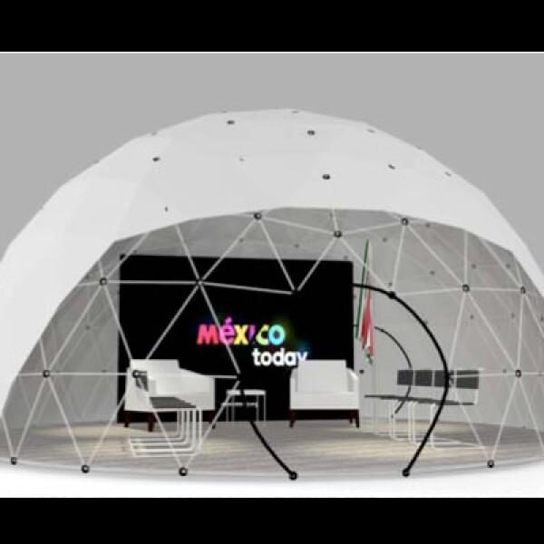 La construcción tendrá una sala para dar conferencias.