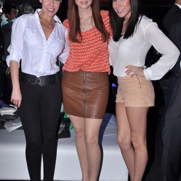 Sharis Cid, Andrea Torre y Kristal Cid