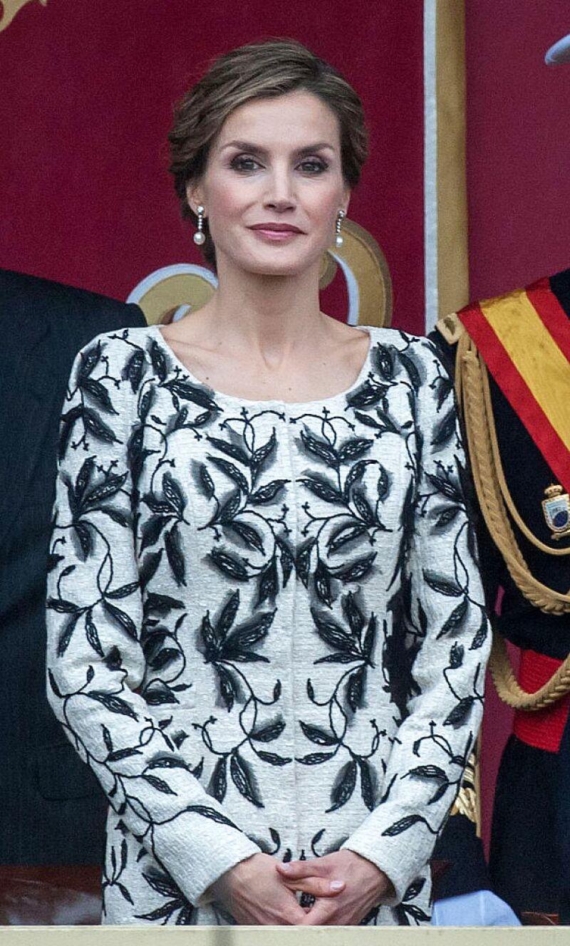 Reina Letizia en la Fiesta Nacional 2016