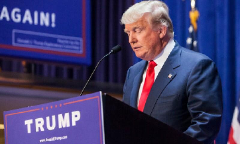 El anuncio de Donald Trump no fue apreciado por todos. (Foto: Getty Images)