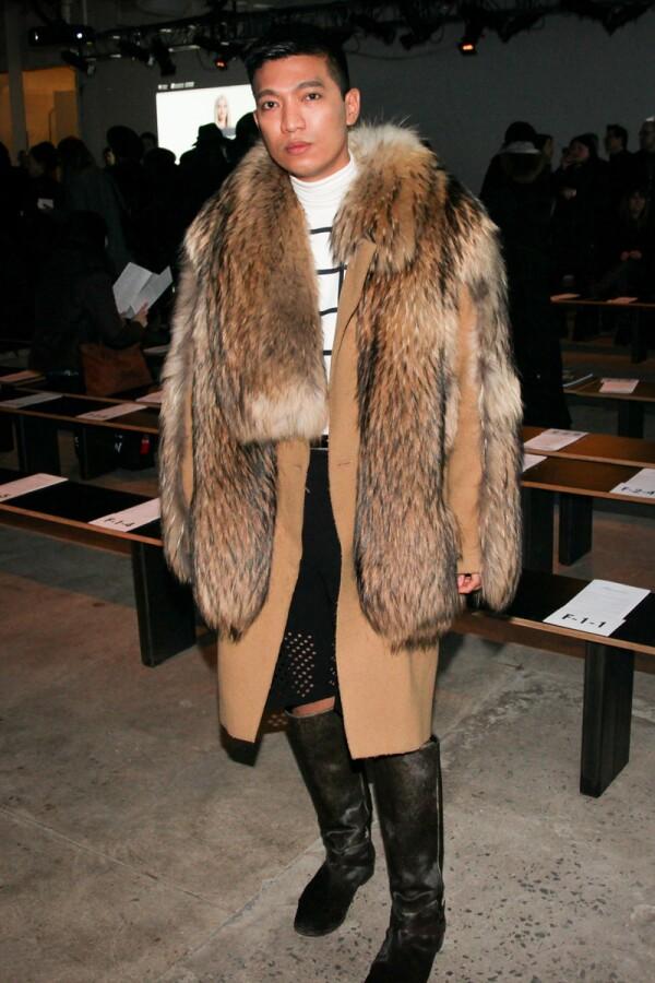 Kenneth Cole show, Autumn Winter 2014 Mercedes-Benz Fashion Week, New York, America - 10 Feb 2014