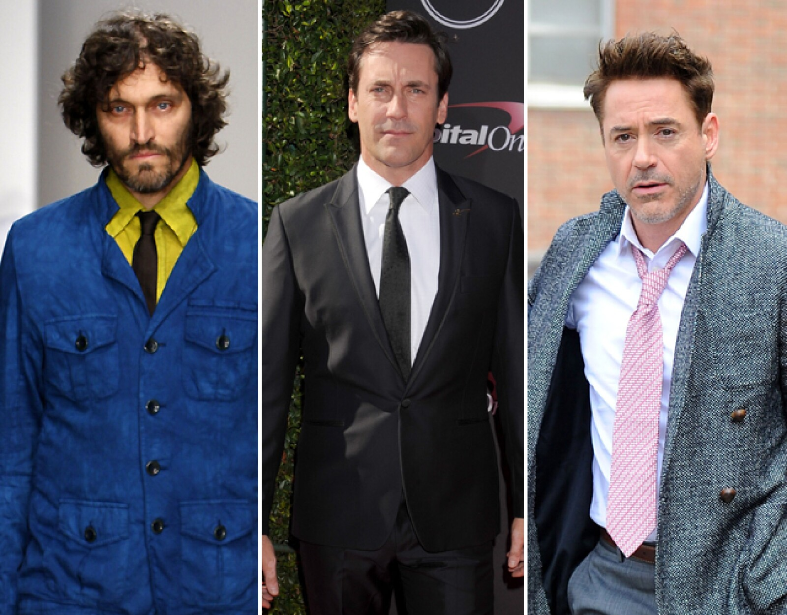 Tessa: Vincent Gallo, Robert Downey Jr, Jon Hamm y Adrien Brody. ¡Fan de Mad Men!