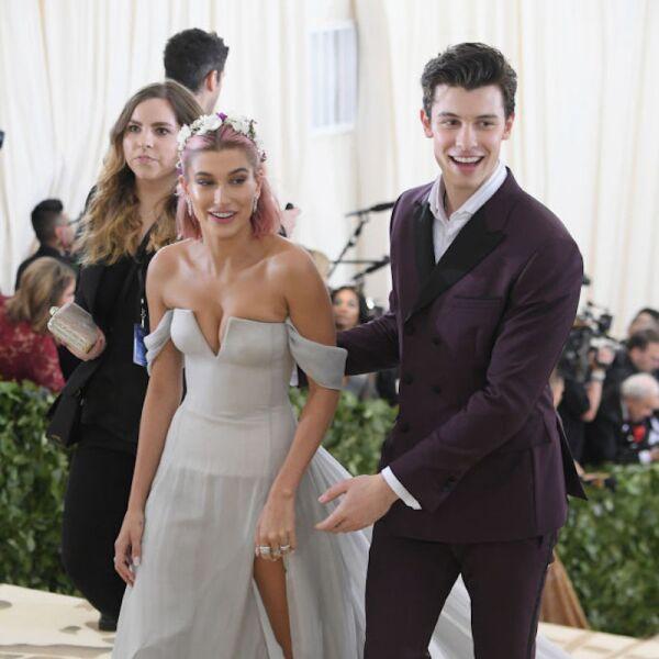 Shawn Mendes y la modelo Hailey Baldwin