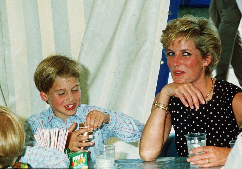 William y Diana