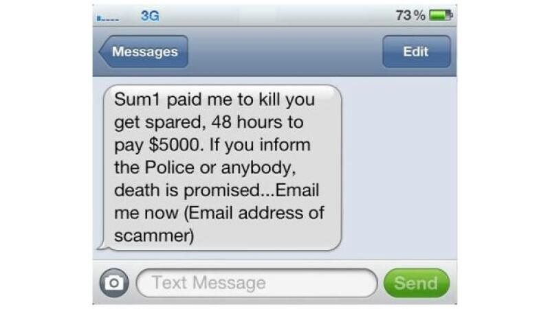 Australianos reciben mensajes de estafa