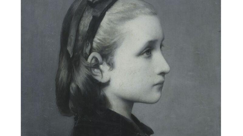 "Célestin Joseph Blanc, ""Head of a Girl"" (1867)"