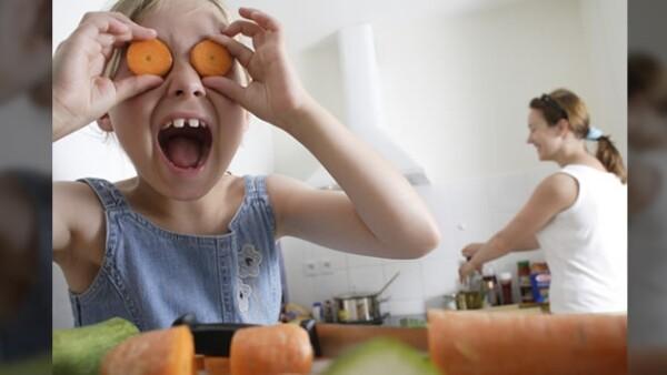 kids cocinar familia sorpresa