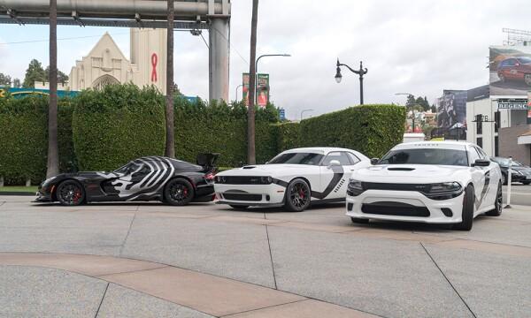 Dodge Viper inspirado en Stormtroopers