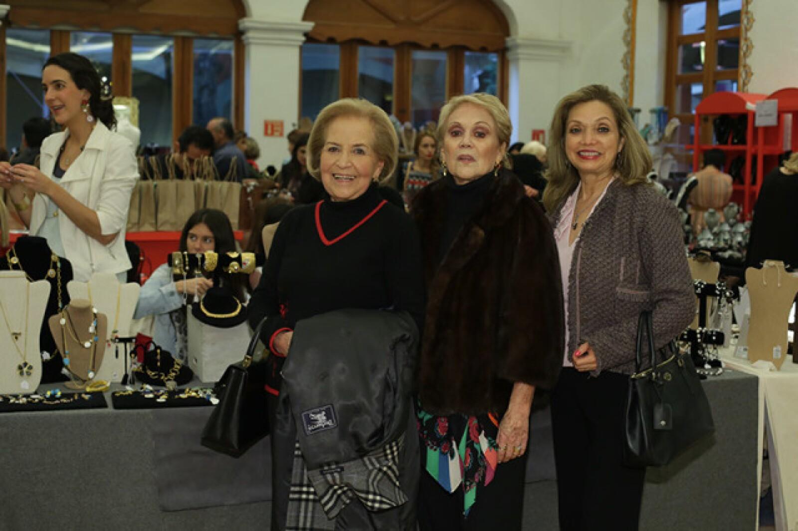 Cristina Rivera,Estela Pioti y Silvia de Parra