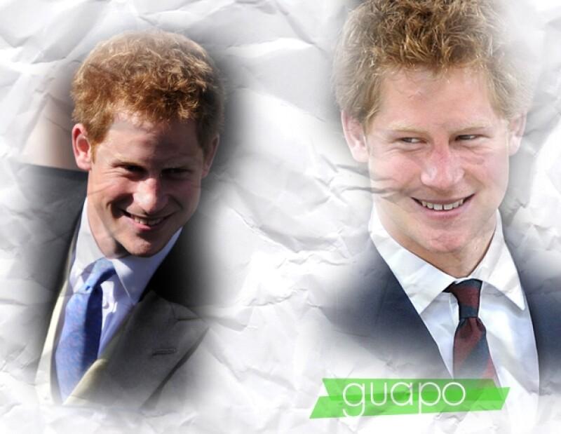 Si eres príncipe hay cierto atractivo, pero Enrique sí es guapo.