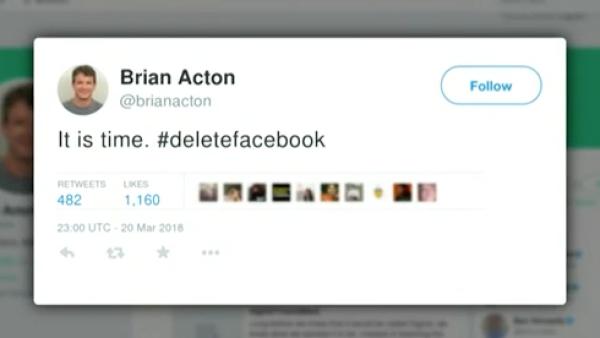 Uno de los cofundadores de WhatsApp hace un llamado a borrarse de Facebook