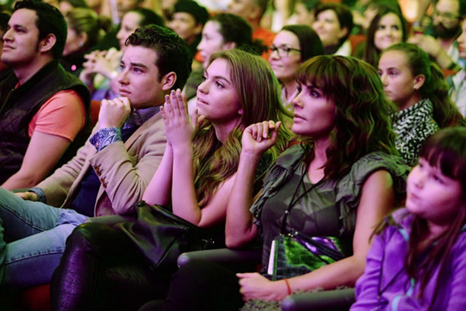Jorge Álvarez, Sofía Castro y Rossana Nájera.