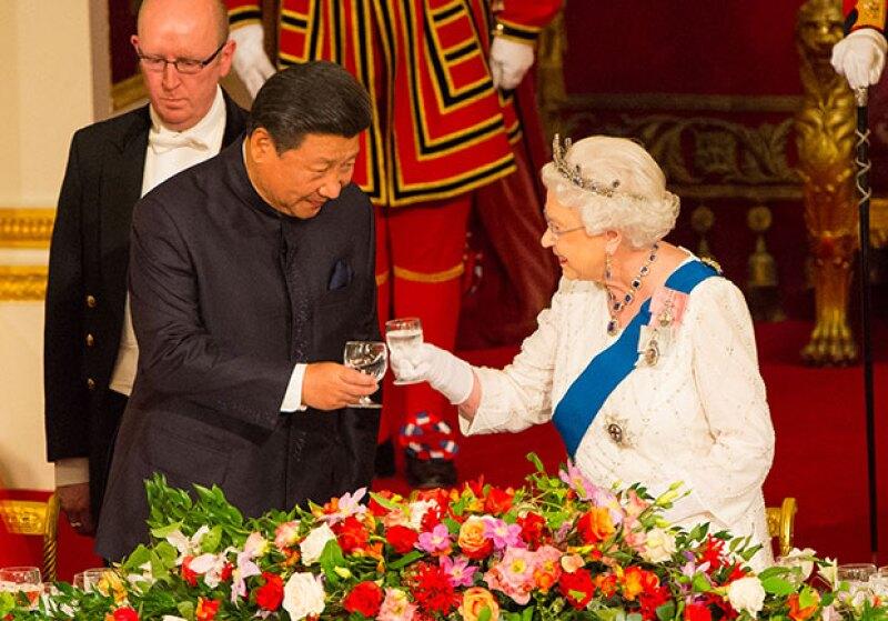 La cena fue ofrecida en honor al mandatario chino Xi Jinping.
