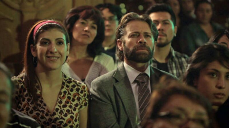 Karina Gidi y Juan Manuel Bernal en una de las escenas de Cuatro Lunas.