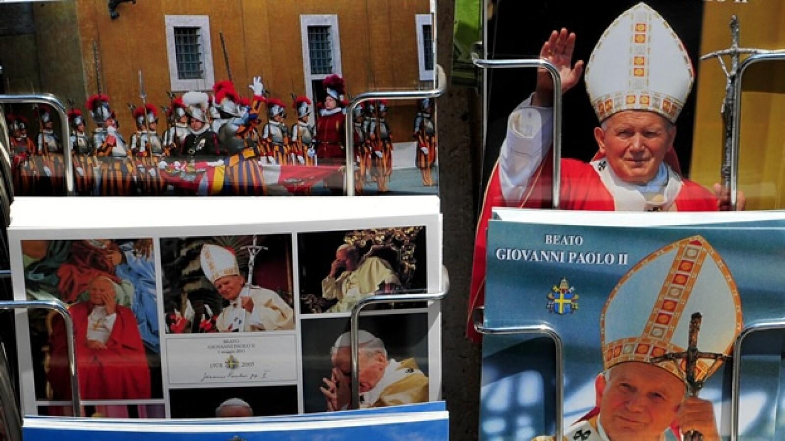 Juan Pablo II - postales