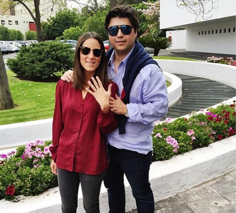 Fernanda Rodríguez y Carlos Moreno