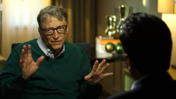 Bill Gates con CNN