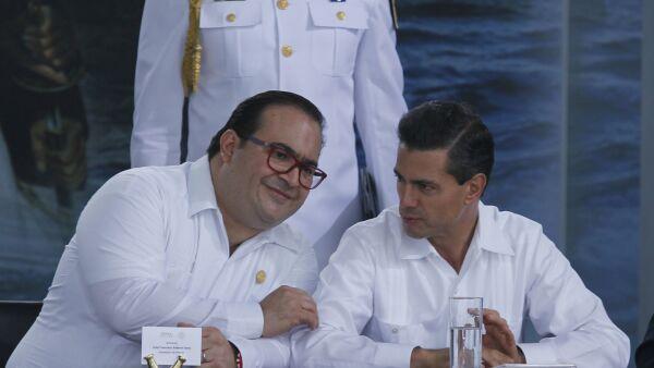 Javier Duarte y Peña Nieto