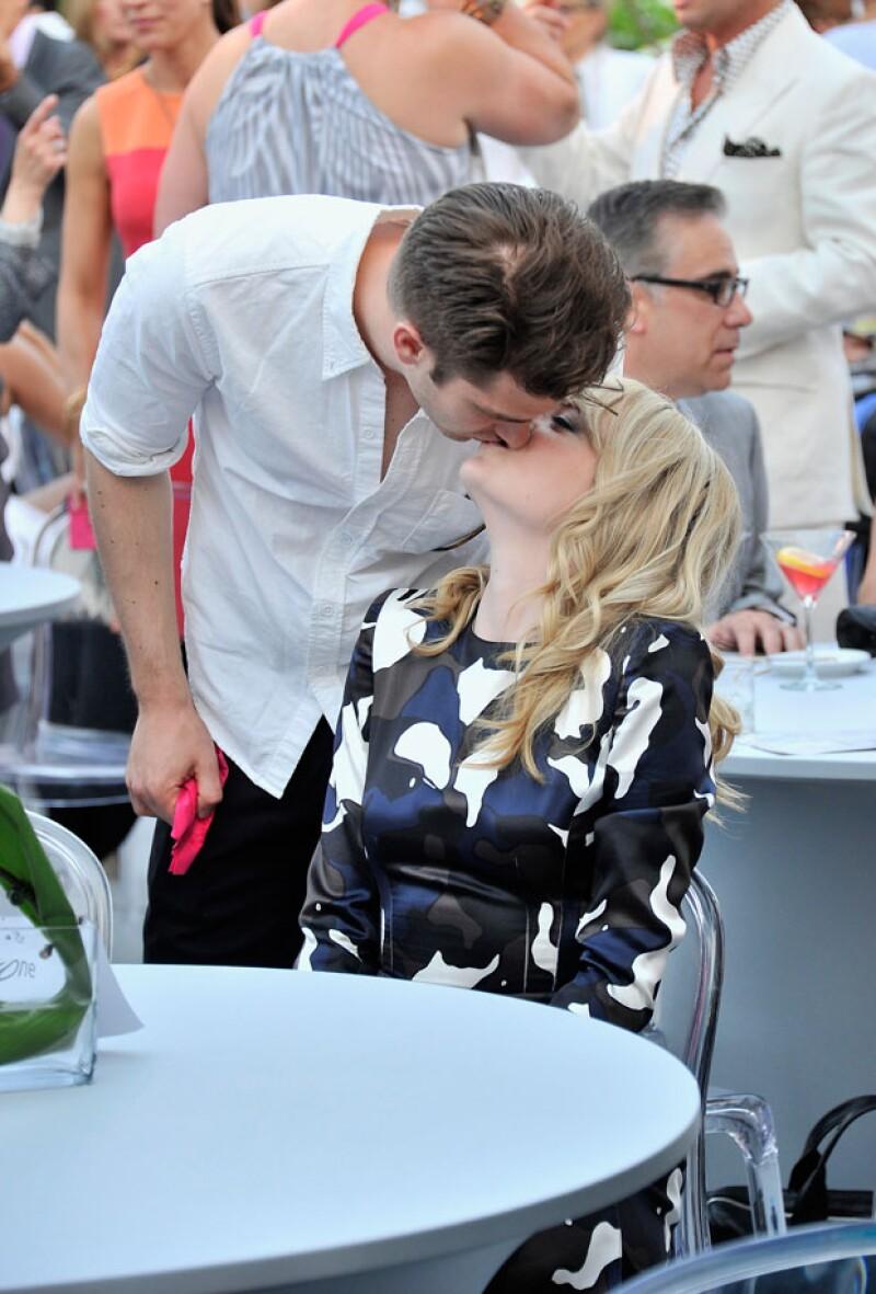 Pese a la distancia, Emma y Andrew parecían tener una linda relación.