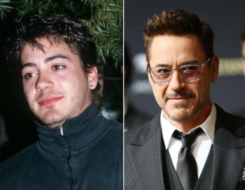Robert Downey Jr. tuvo sus inicios en SNL en los ochentas, pero su carrera ha avanzado a pasos enormes.
