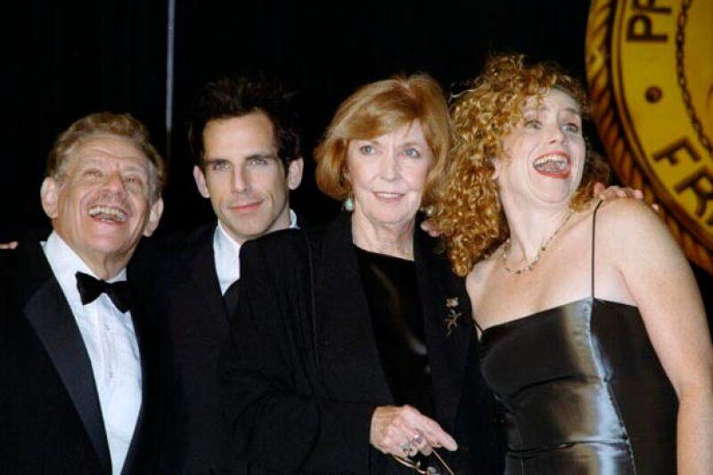 Toda la familia Stiller hace algunos años.