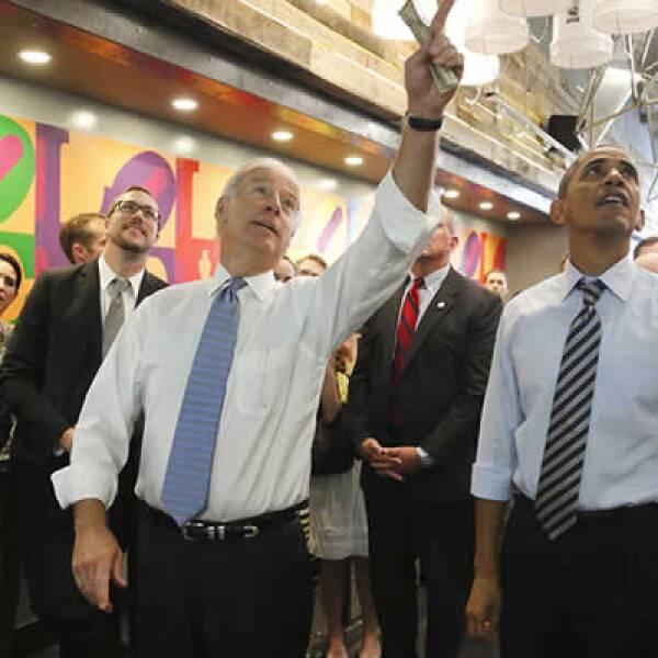 El vicepresidente de EU se ha sumado a la presión que ejerce Obama sobre los republicanos para lograr un acuerdo antes del 17 de octubre, fecha límite para crecer el techo de endeudamiento.