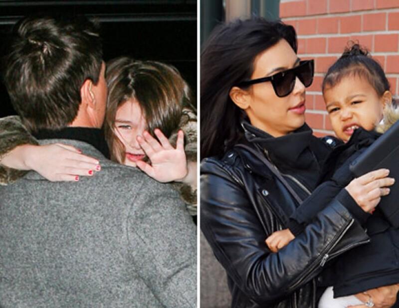 De Harper Beckham a North West, te presentamos el TOP 5 de los mejore berrinches de los bebés de Hollywood.