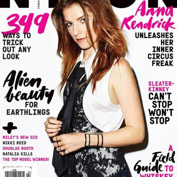 Anna Kendrick es la increíble portada de NYLON.