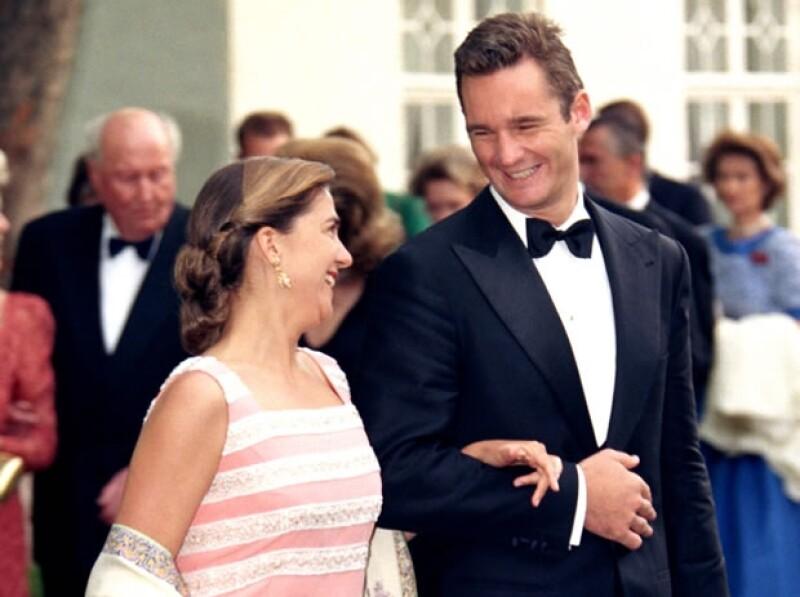Iñaki y Cristina lucían muy enamorados en su primer compromiso oficial.