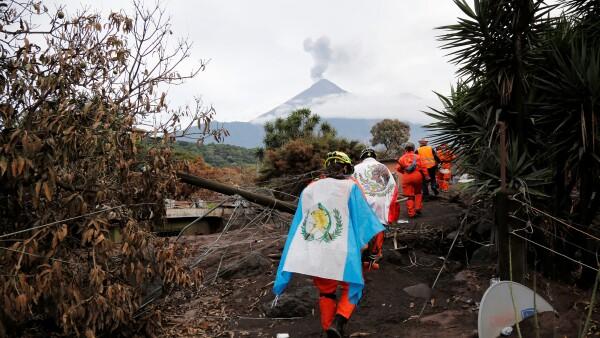 Continúa la actividad volcánica