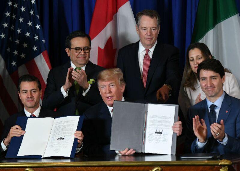 firma del T-MEC en Argentina