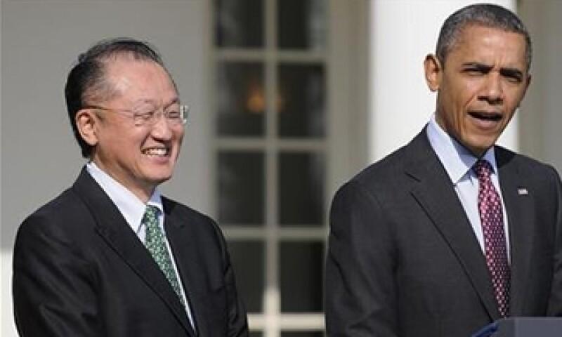 El presidente estadunidense Barack Obama nominó el viernes pasado a Jim Yong Kim para ser presidente del Banco Mundial. (Foto: Reuters)