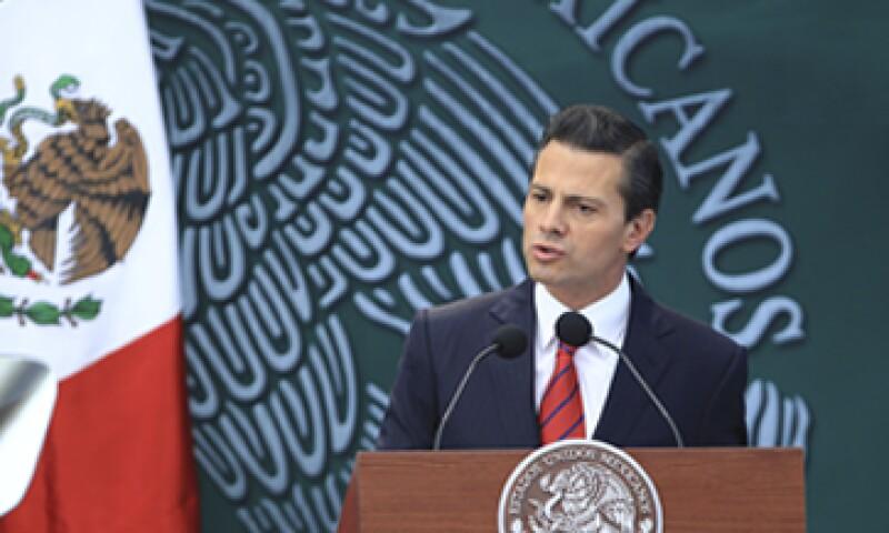Peña promulgó este viernes la reforma política. (Foto: Cuartoscuro)