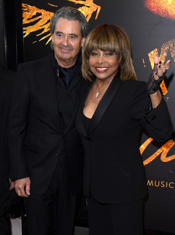 Erwin Bach y Tina Turner.