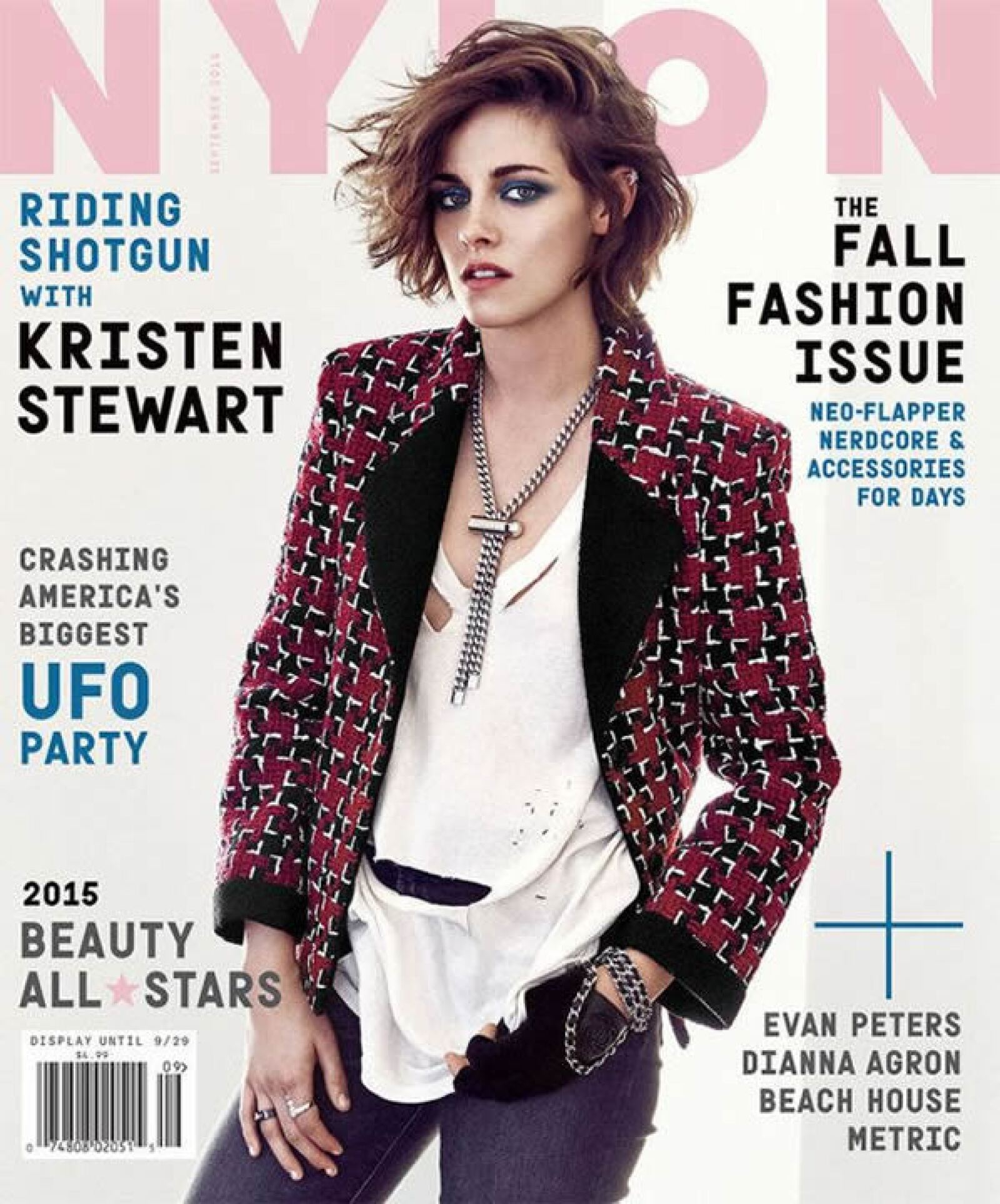 Nylon: Kristen Stewart en su segunda portada del mes.