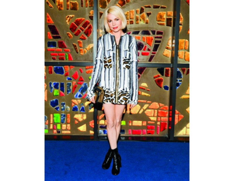 Michelle Williams en Louis Vuitton.