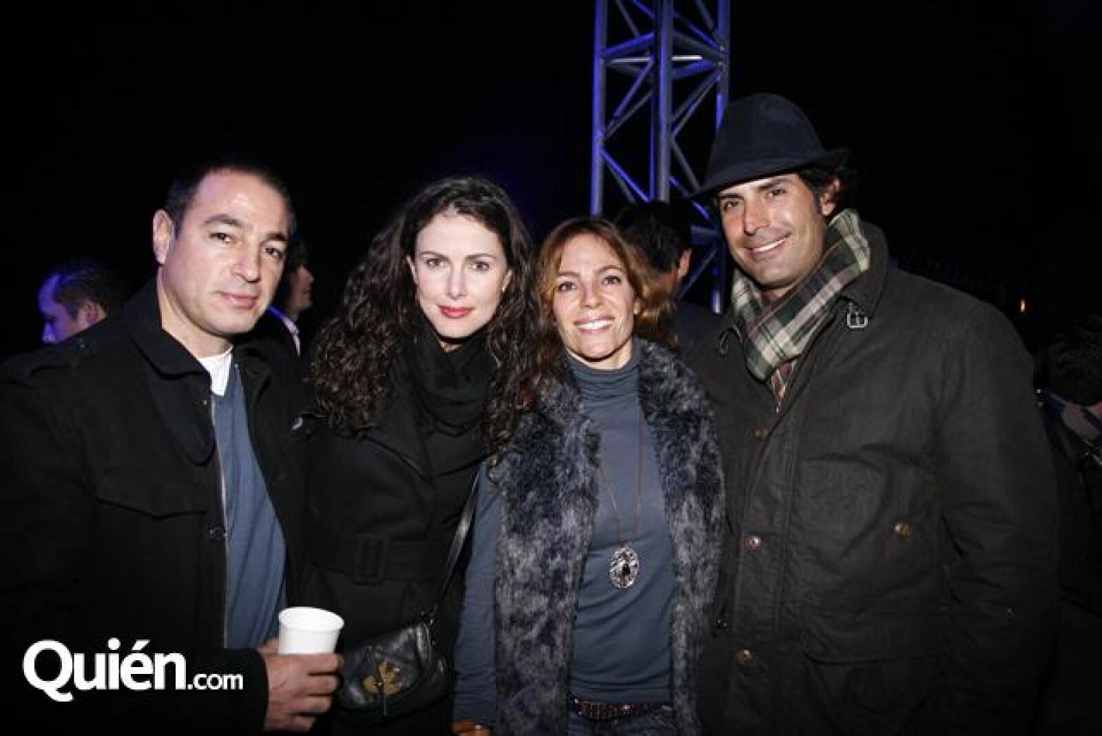 Gustavo Angel,María Fernanda Angel,Claudia Angel,Carlos Pérez