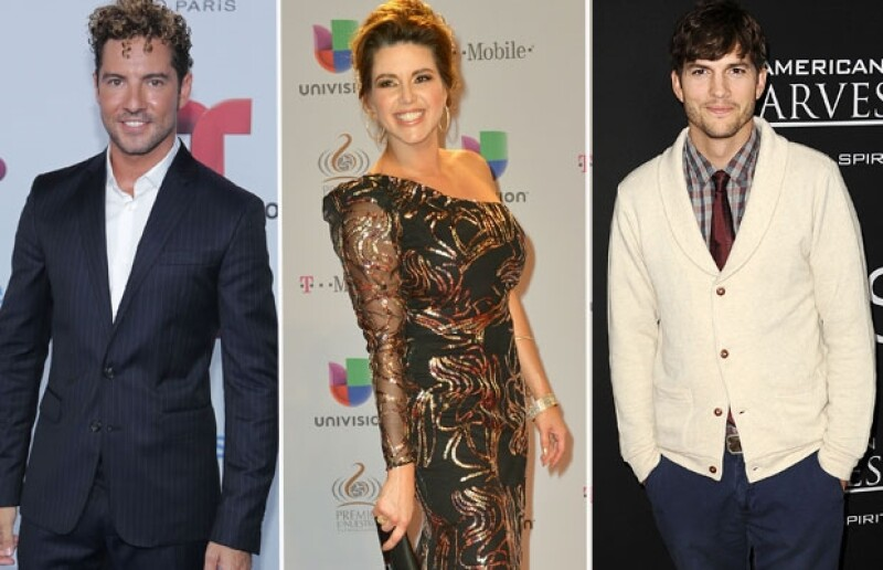 Alicia Machado, David Bisbal y Ashton Kutcher son las estrellas internacionales que también han dejado huella por sus errores.