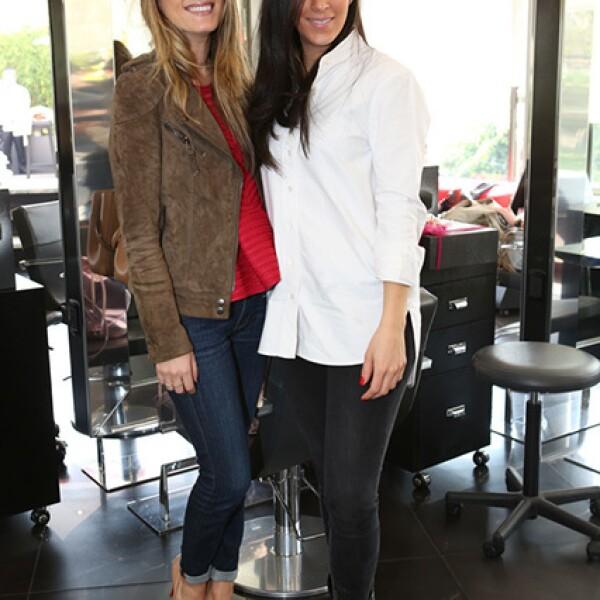 Chantal Trujillo y Lorena Murat