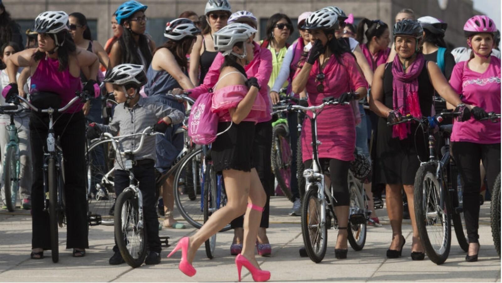 bici con tacones
