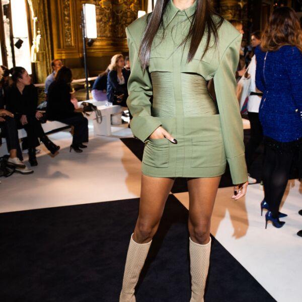 Balmain : Front Row -  Paris Fashion Week - Womenswear Spring Summer 2020