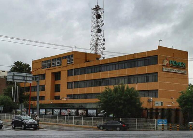 Instalaciones de Pemex en Reynosa, Tamaulipas