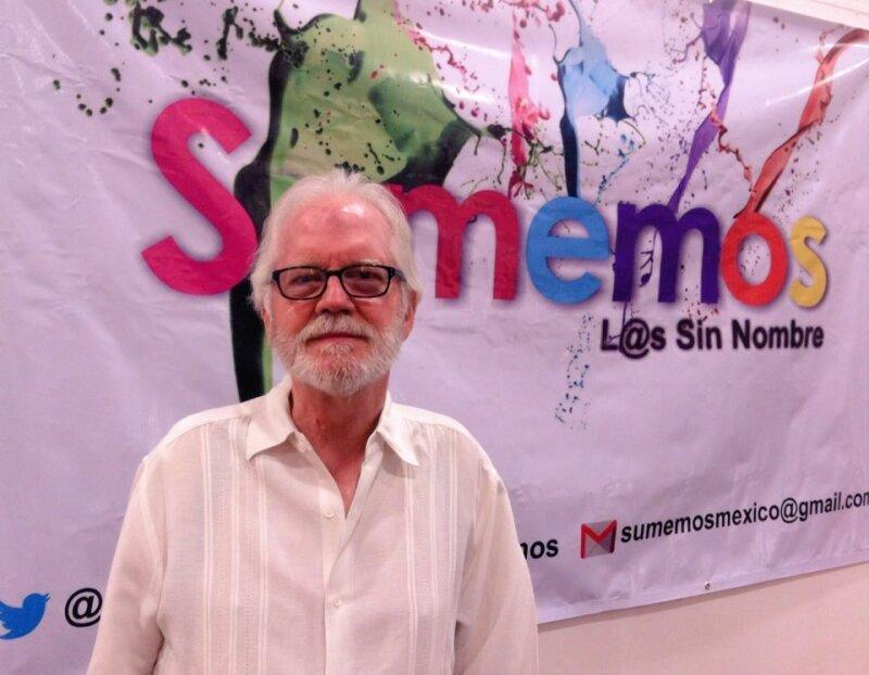 Fue fundador del PRD y embajador de México en Cuba, Ricardo Pascoe Pierce y ahora buscará formar parte del Constituyente por la vía independiente.