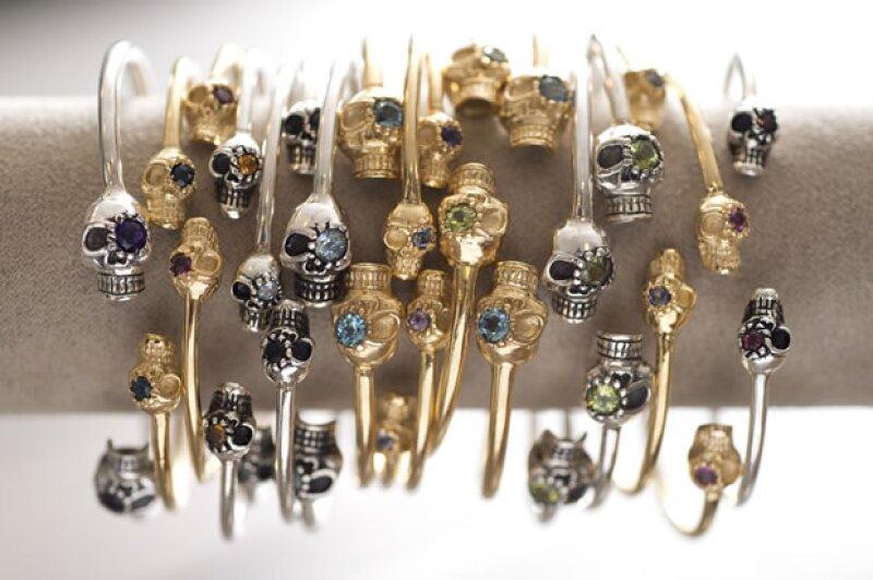 Los skull bracets son unas de sus piezas más vendidas