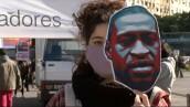 Miles de personas en el mundo protestan por la violencia racial en EU