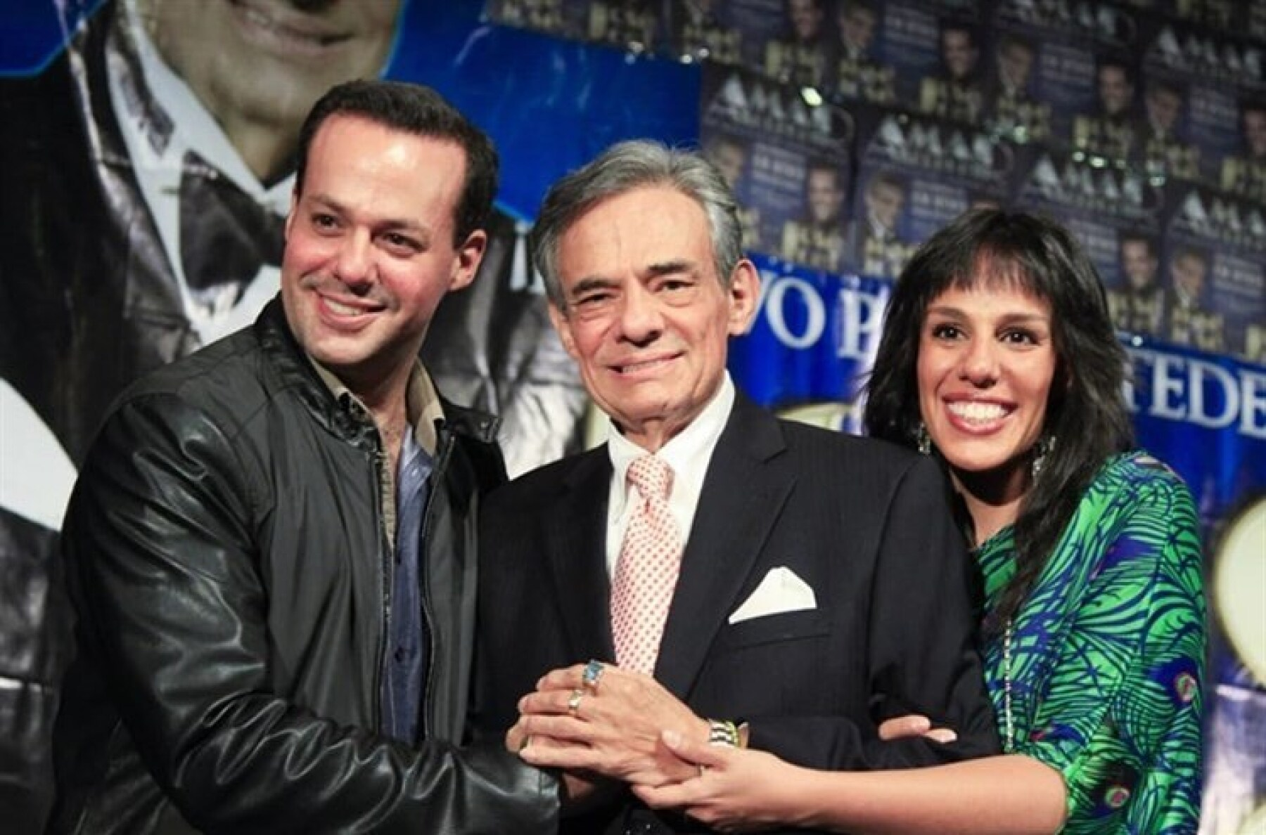 José Joel, José José y Marysol Sosa