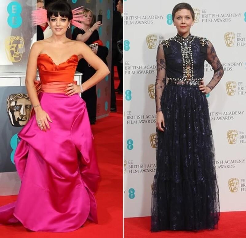 Lily Allen y Maggie Gyllenhaal no acertaron con sus look en la red carpet.