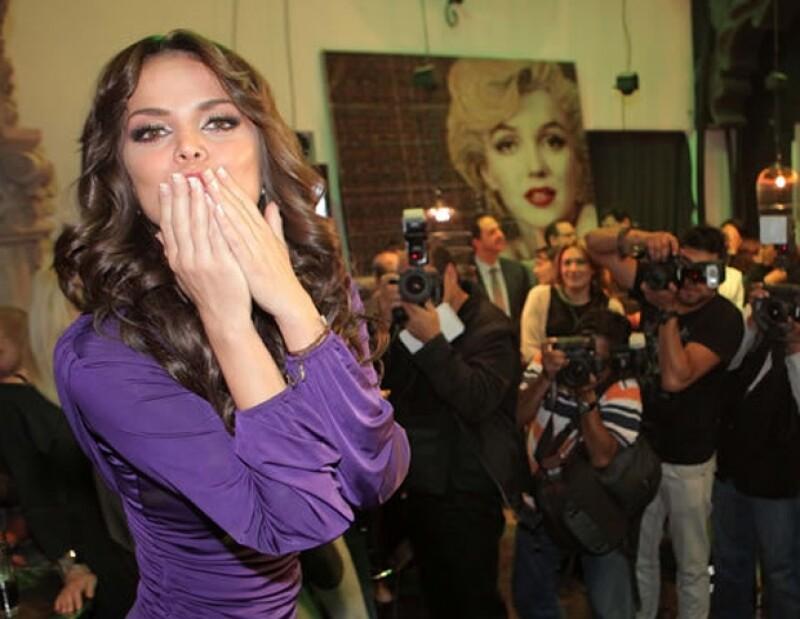 La conductora de Televisa Deportes, quien confirmó hace unos días su ruptura con el Canelo Álvarez, negó que en este momento salga con alguien, como se ha especulado.