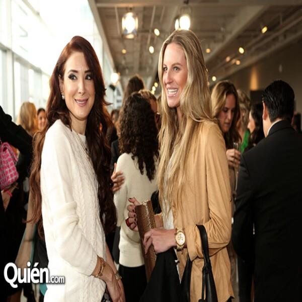 Olivia Guzmán y Mayte Socana