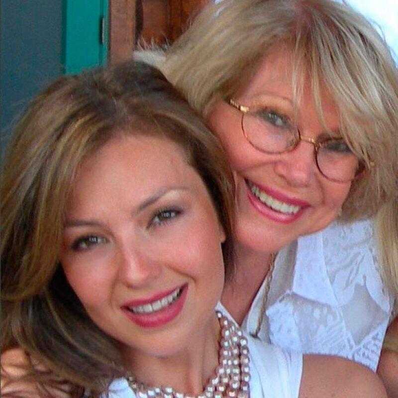 A cinco años de la muerte de Yolanda Miranda Mange, así la recordó la cantante.
